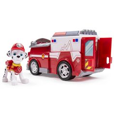 """Nickelodeon Paw Patrol - PAW Truck with Marshall - Spin Master - Toys """"R"""" Us"""