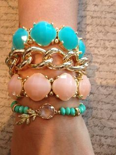 Spring Jewelry! Love the Layering.  www.sexymodest.com