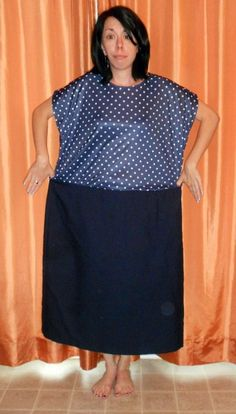 This girl does one refashion a day of awkward thrift store clothes and nails it almost every time - its crazy! Love the prints and everything makes me want to learn to sew so bad! I sooooo need to learn to sew! Thrift Store Outfits, Thrift Store Refashion, Thrift Stores, Diy Clothing, Sewing Clothes, Recycled Clothing, Sewing Hacks, Sewing Tutorials, Look Fashion