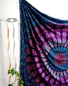 Queen Size Indian Mandala Tapestry Wall Hanging by Tapestryhub2015