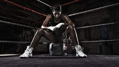 love the lighting    Sugar Sweet Ray - Female Professional Boxer by Joel Grimes Photography, via Flickr