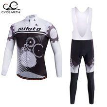 Miloto 2016 Cycling Jersey long Sleeve Bicycle Cycling Clothing Bike Wear Shirt sport Maillot Ropa Ciclismo Bib Pants Breathable //Price: $US $33.95 & FREE Shipping //     #tshirt