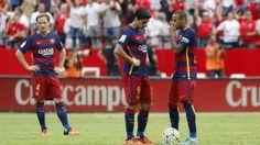Sin Messi, el Barcelona perdió con el Sevilla