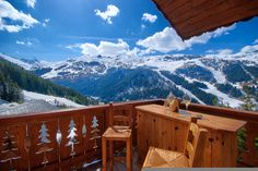 Chalet Holiday Rentals in Meribel, France | Chalet Genepi - 5* ski in ski out chalet #hittheslopes