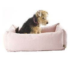 Classic Dog Bed Pink Small