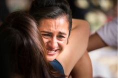 Stock Photo : Hispanic women hugging and crying Happy Tears, Tears Of Joy, Short Scriptures, I Hate Cancer, Always Be Positive, Feeling Frustrated, Self Regulation, Smiles And Laughs, Human Emotions