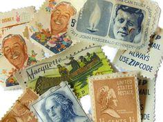 Vintage Postage Stamps Vintage Stamps Walt Disney Stamps