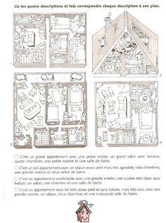 Vocabulaire / La maison / Exercices | Scribd