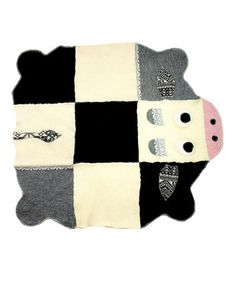 animal blankets made out of sweaters! love 'em
