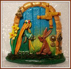 Fairy Door - www.facebook.com/charmedfairydoors