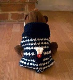 Haute Puppy Coat, free pattern