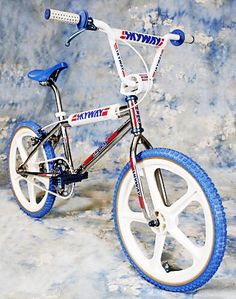 Skyway Bmx, Vintage Bmx Bikes, Bmx Bicycle, Oakley, Old School, Cycling, Boards, Retro, Toys