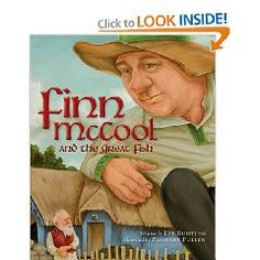 Finn McCool and the Great Fish (Myths, Legends, Fairy and Folktales): Eve Bunting, Zachary Pullen Eve Bunting, Irish Eyes Are Smiling, Irish American, Children's Literature, Used Books, Read Aloud, Childrens Books, Fairy Tales, Ebooks