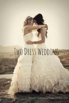#SameSexWedding #2Brides