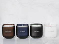 Scented candles by Piet Boon - Serax. Only available from ECC Brisbane. Call us today to order (box qtys only) 07 3100 8842 Bottle Design, Interior Accessories, Scented Candles, Brisbane, Service Design, Lighting Design, In This Moment, Inspiration, Collaboration