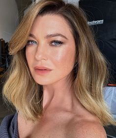 Image may contain: one or more people and closeup Greys Anatomy Episodes, Greys Anatomy Cast, Beauty Makeup, Hair Makeup, Hair Beauty, Beige Blonde Balayage, Derek Shepherd, Grey Anatomy Quotes, Cut And Color