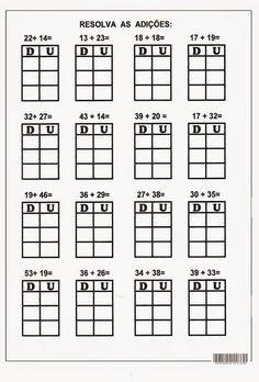 2 Digit Addition without Regrouping Worksheets First Grade, Second Grade, Singapore Math, Math For Kids, Preschool Worksheets, Kindergarten Math, Math Centers, Homeschool, Classroom