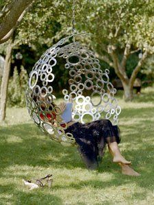 Love this hanging chair!
