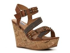 Not Rated Don't Look Back Wedge Sandal