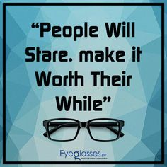 deff55d8b9 People will stare make it worth their while. G4U TR7627 Eyeglasses ...