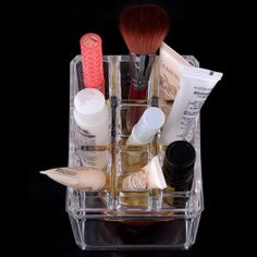 Beauty Acrylic - Acrylic Cosmetic Organizer Makeup Brushes Lipstick Holder 1035, $16.99 (http://www.beautyacrylic.com/products/acrylic-cosmetic-organizer-makeup-brushes-lipstick-holder-1035.html)