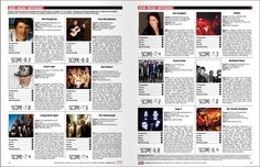 music review spread