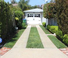 Driveway Paved With Permeable Pavers Drivable Grass®