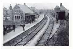 Easton Station, Isle of Portland, Dorset Weymouth Harbour, Portland Dorset, Old Train Station, Train Stations, Third Rail, Disused Stations, Steam Railway, Southern Railways, Model Train Layouts