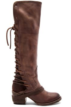 Freebird by Steven Coal Boot in Plum Leather