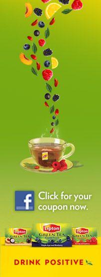 Lipton Green Tea, Hot or Cold, Love it:)