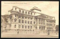 Biblioteca Nacional, construção em 1909  Fotos Internet