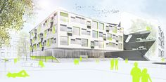 BG/BRG sillgasse Competition, Presentation, Fair Grounds, Fun, Travel, Architecture, Projects, Voyage, Viajes