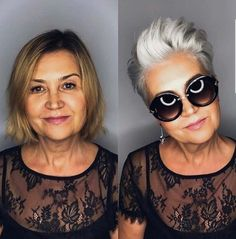 Salt and pepper gray hair. Grey hair. Silver hair. White hair. Granny hair don't care. No dye. Dye free. Natural highlights. Aging and going gray gracefully. Great transition.