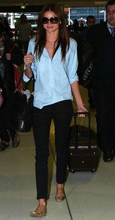 Modern Style Icon: Miranda Kerr via La Dolce Vita 머 딱히 입은 것도 없는데  역시 몸매가 갑이구나