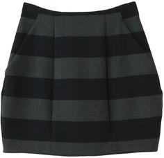 ShopStyle(ショップスタイル): Sacra ボーダーコクーンスカート