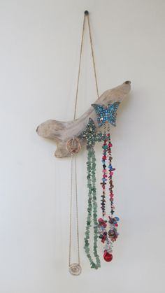 For Margaret Lovely Textured Flat Driftwood Pieces Old