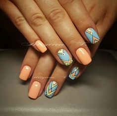 Look through our collection of 40 summer nail designs! We have all the most fabulous acrylic nail designs for summer for you to choose from! Pink Acrylic Nails, Gold Nails, Acrylic Nail Designs, Nail Art Designs, Tribal Nail Designs, Great Nails, Perfect Nails, Cute Nails, Fabulous Nails