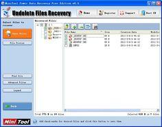 Perform hard drive data recovery with MiniTool Power Data Recovery. Software, Data Recovery, Free, Windows, Ramen, Window