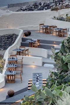 ASEA Restaurant in Oia , Santorini