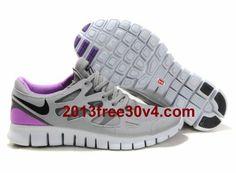 huge discount b0aea 13fc4 Mens Nike Free Run 2 Shield Grey Black Purple cheap nikes, cheap nike free, womens  running shoes, fashion sneakers for girls I would be so dang happy if ...