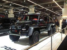 Power, 700 HP Mercedes. What a Monster