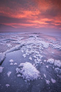 5° Sunrise! Magnificent! Hopefully One Day I Will Be Able To Experience A Sunrise So Icy!