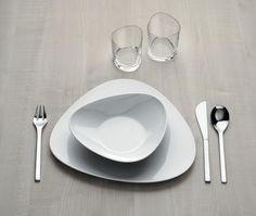 Il ber servizio di piatti colombina dell'alessi