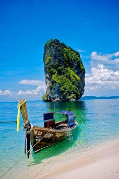 Ko Poda is an island off the west coast of Thailand,