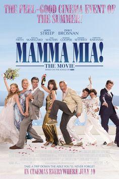 Mamma Mia! Meryl Streep, Pierce Brosnan, Colin Firth, Stellan Skarsgard, Julie Walters, Dominic Cooper, Amanda Seyfried, Christine Baranski. Directed by Phyllida Lloyd. 2008