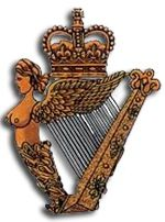 Ulster Defence Regiment Royal Irish Regiment British Army Badge Horloge Murale