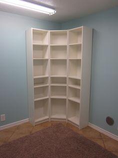 Craft Room storage.   Blue Cricket Design