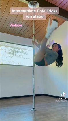 Pole Fitness Moves, Pole Dance Moves, Pole Dancing Fitness, Dance Tips, Dancer Workout, Boxing Workout, Pole Sport, Pole Tricks, Gym Time