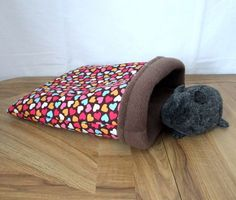 Tutorial: Cuddle Sack -->this is for a guinea pig; however, I made them for my hedgehog!