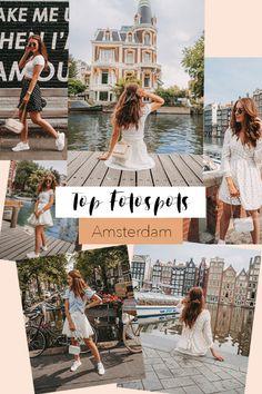 Finde die perfekten Fotospots für deine Amsterdam Reise! Auf meiner Webseite gibt es noch mehr Infos zu den Spots #amsterdam #fotospots #shooting #fotografie #photospots #holiday #instagramspots Amsterdam, Instagram, Pictures, Website, Viajes